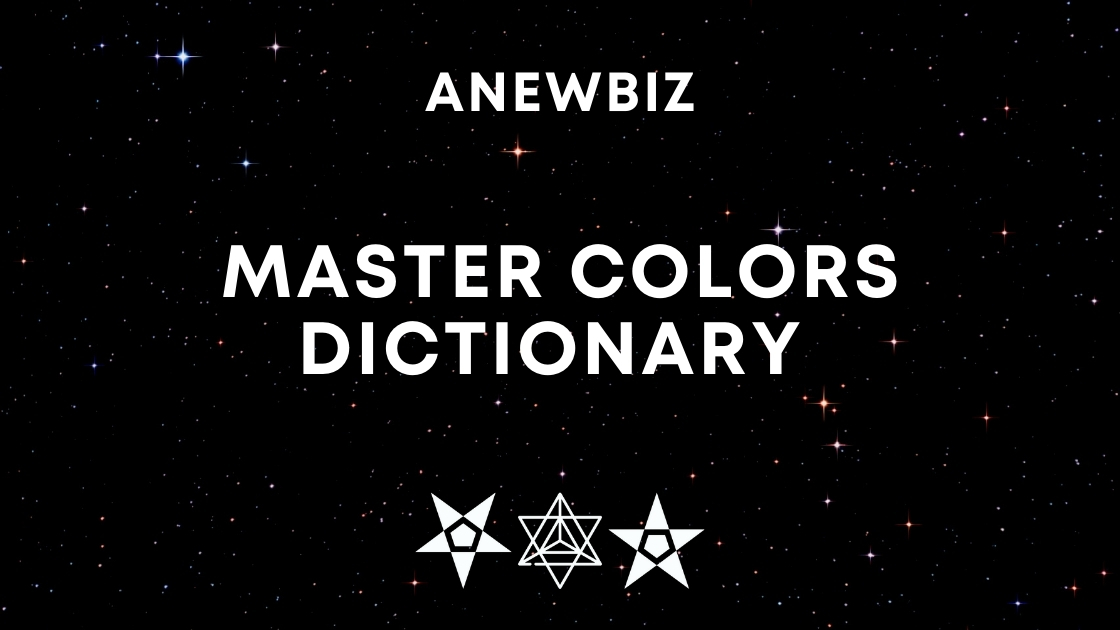 Master Colors Dictionary
