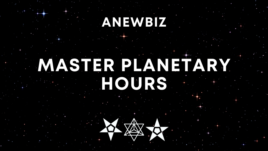 Master Planetary Hours