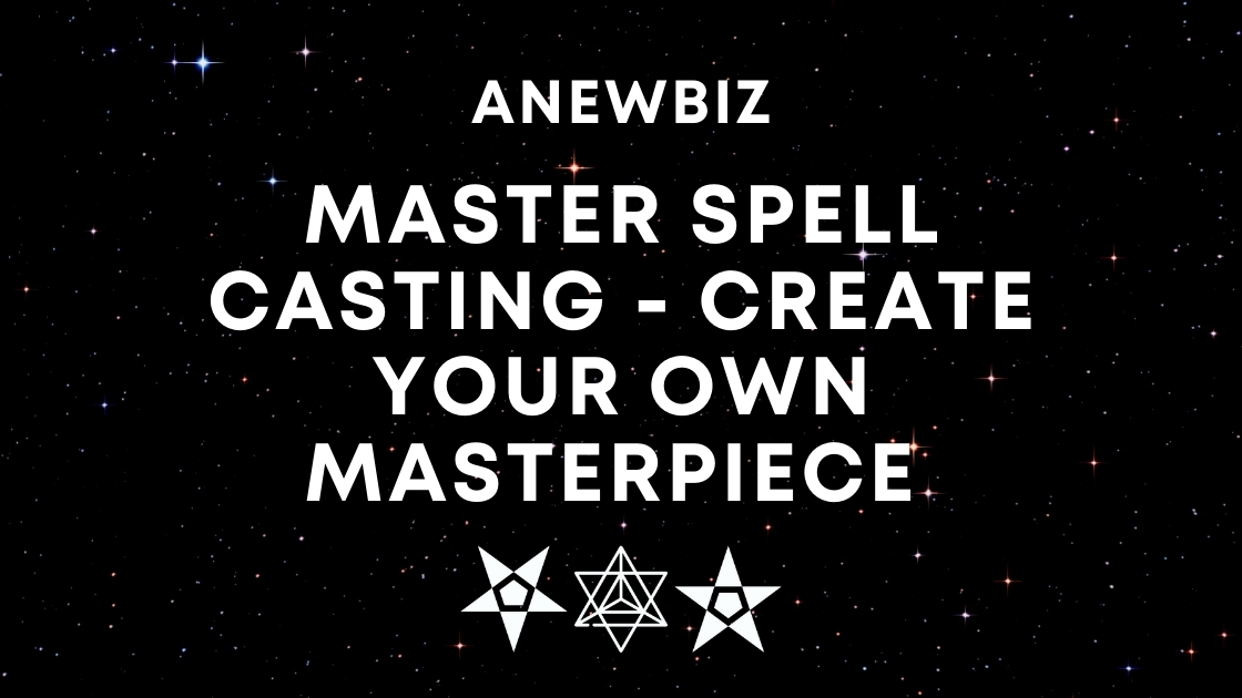 Master Spell Casting - Create your own masterpiece