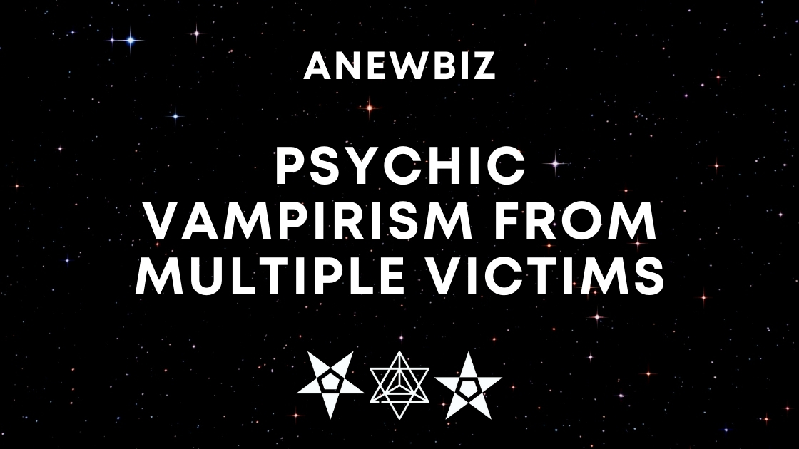 Psychic Vampirism from Multiple Victims