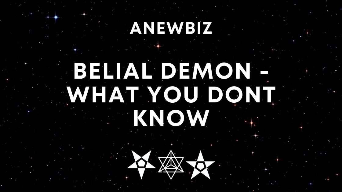 Belial Demon - WHAT YOU DONT KNOW