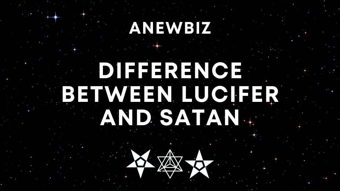 DIFFERENCE between Lucifer and Satan