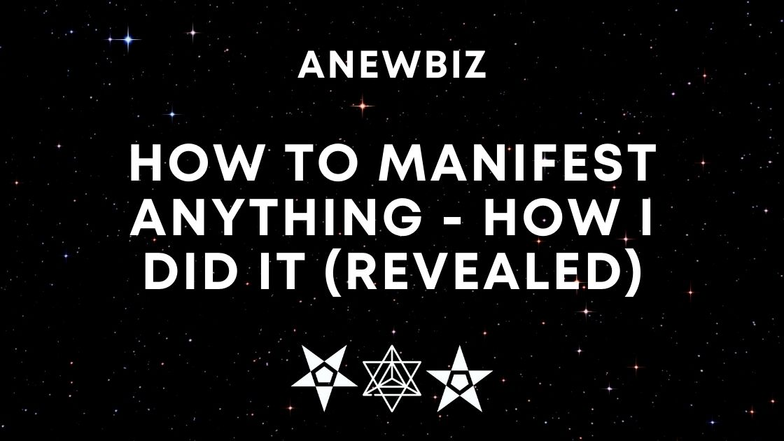 How To Manifest Anything - How I Did It (REVEALED)