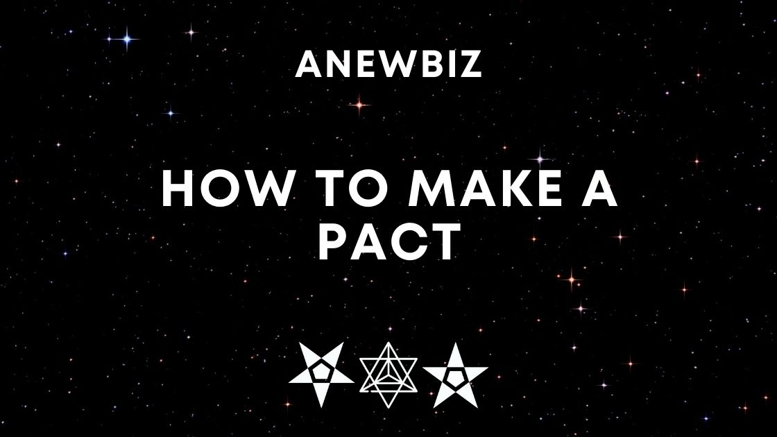 How to Make a Pact