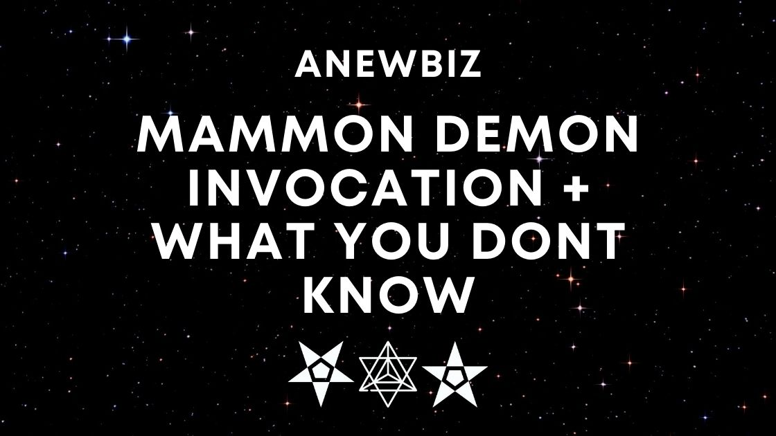 Mammon Demon Invocation + WHAT YOU DONT KNOW