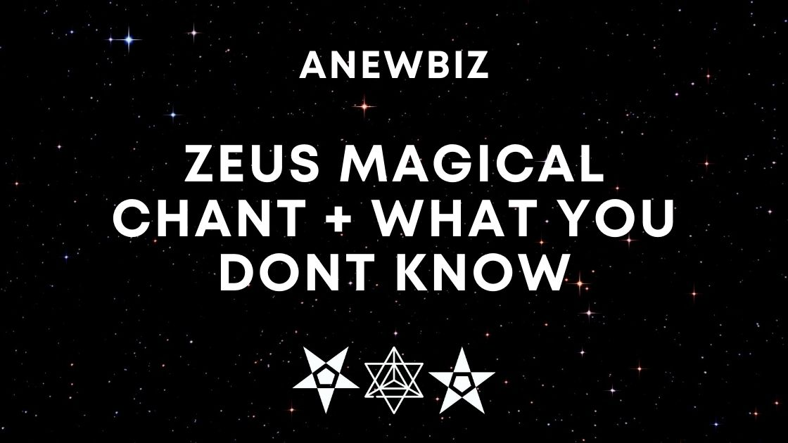 Zeus Magical Chant + WHAT YOU DONT KNOW