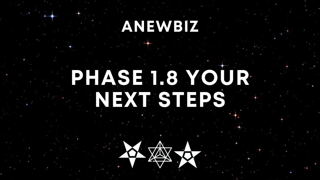 Phase 1.8 Your Next Steps